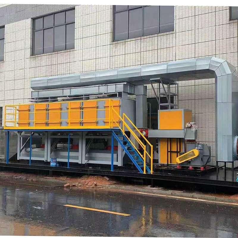 活性炭吸附催化燃烧设备除废气原理和效果 厂家直销安装催化燃烧