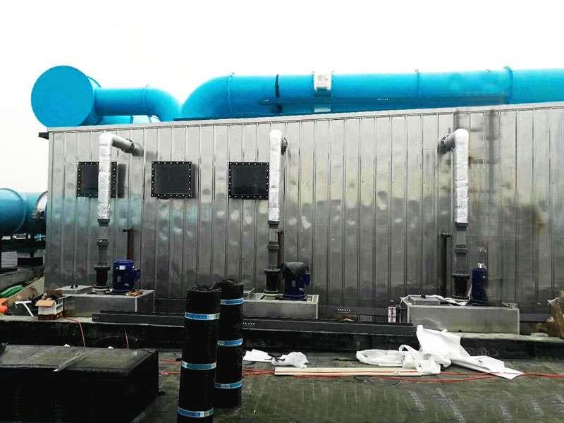 污水厂生物除臭设备原理结构图