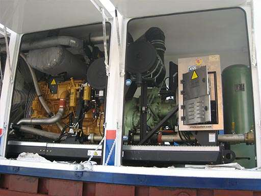 制氮装置及增压设备